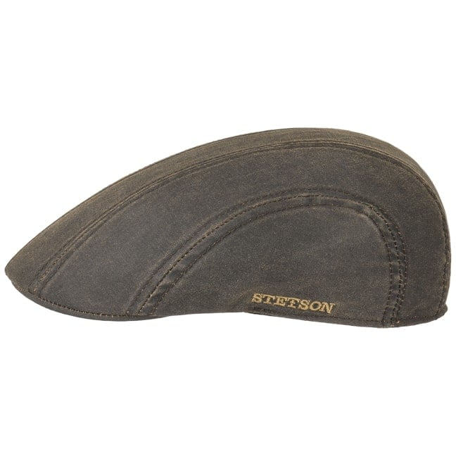 Madison Old Cotton Flat Cap. by Stetson 94ea24babf3b