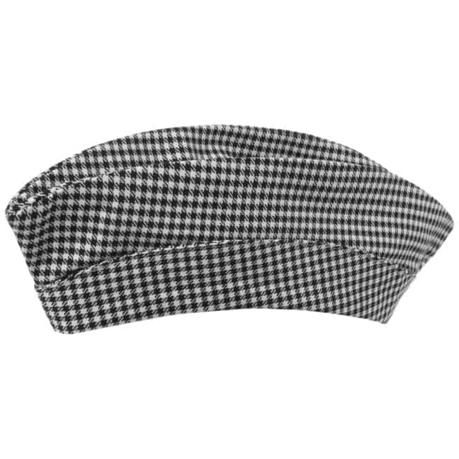 dcbbd65200a79 Side Cap with Houndstooth Check