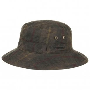 Atkins Waxed Cotton Hat by Stetson fc44182603c