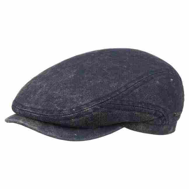 1ca39b1ad8cd0 Belfast Cotton Flat Cap. by Stetson