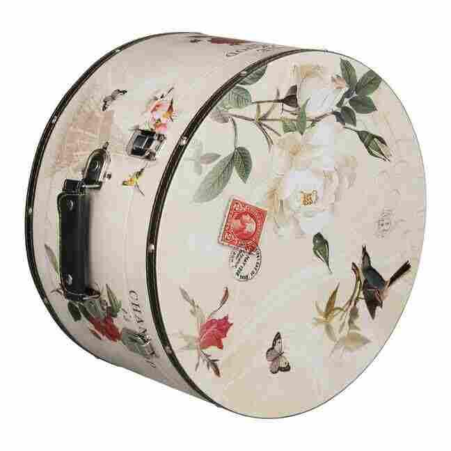 Sombrero De Caja De Paris 38 Cm Por Lierys Sombrero De Accesorios Lierys C4A0Bdkht