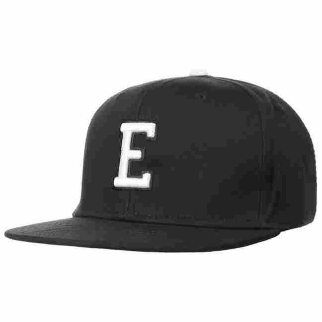 E Letter Snapback Cap 0d6cd8c9c25