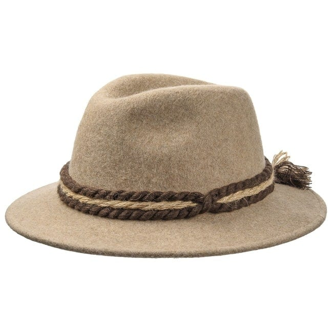 Traditional Tyrolean Wool Felt Hat 01369e179c4