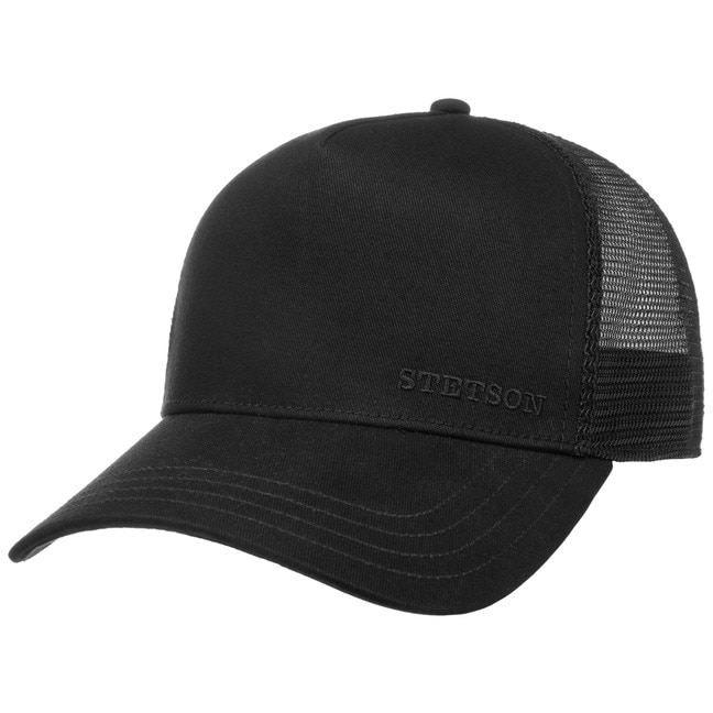 Classic Cotton Trucker Cap. by Stetson 2b47e62bc6