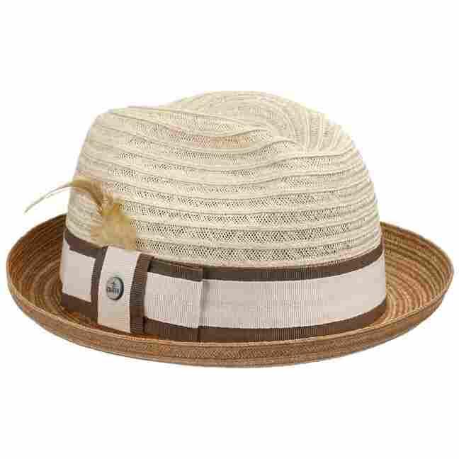 Lobbia Hemp Twotone Player Hat by Lierys Sun hats Lierys vLZuAxNz6H