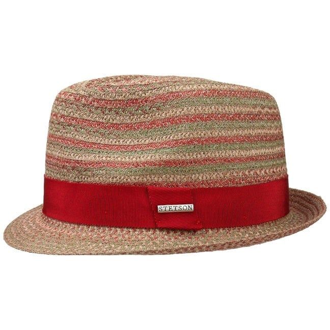 6242e66f Tricolour Toyo Trilby Straw Hat by Stetson, GBP 59,00 --> Hats, caps ...