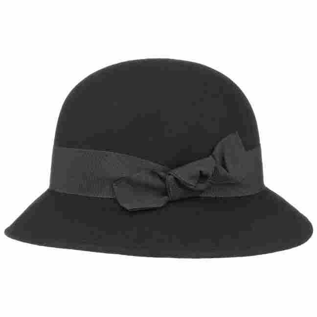 Crushable Wool Felt Cloche Hat by Lierys Felt hats Lierys kKWxzIJ0L