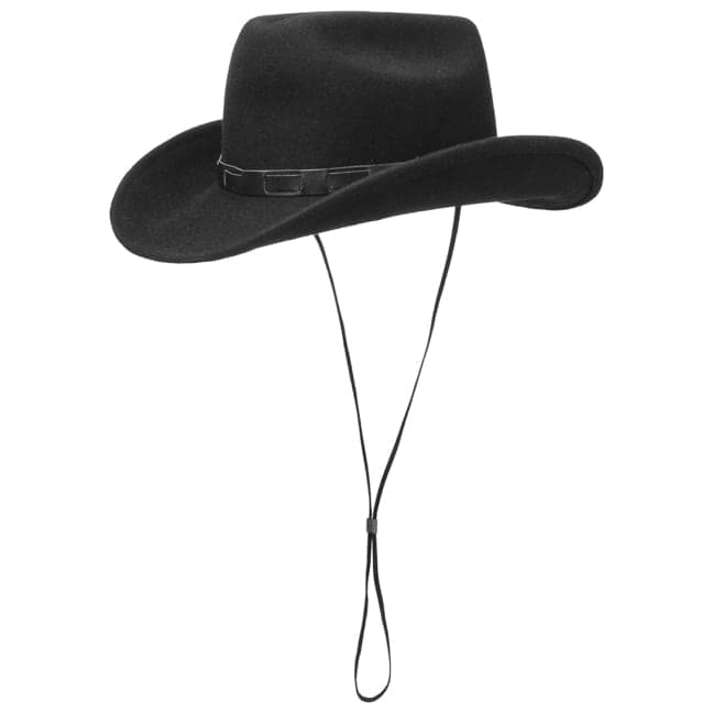 Bill Cody Western Hat with Chin Strap by Lipodo 297c0ea8cd9