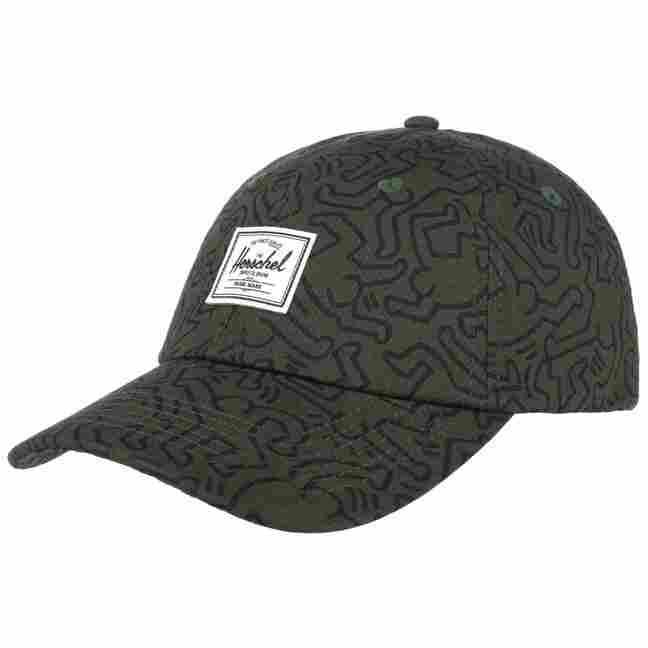 c63e587f584 Keith Haring Curved Brim Cap by Herschel