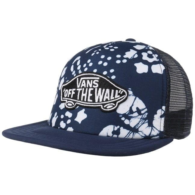 f0067d2fd37 Classic Patch Flower Trucker Cap. by Vans