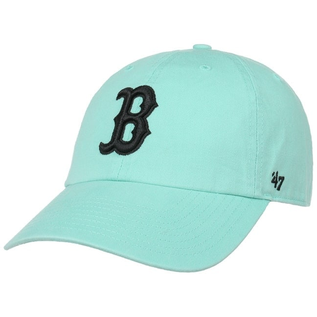 56a35fb0ab44d Clean Up Twotone Red Sox Cap. by 47 Brand