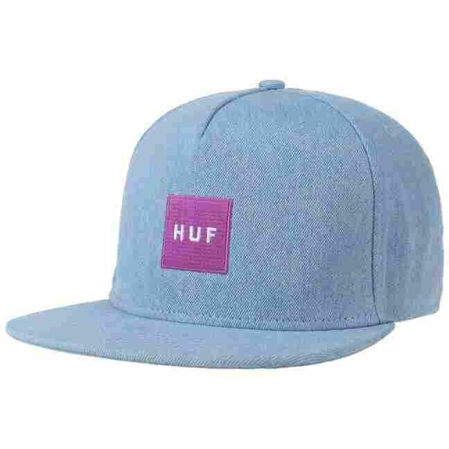 f97a5f0f3 Denim Box Logo Snapback Cap by HUF