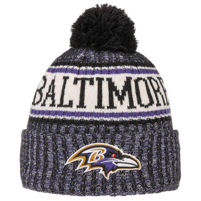 5d03391fcafee2 On-Field 18 Ravens Beanie Hat by New Era - 30,95 £