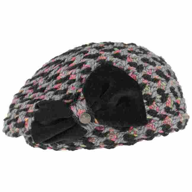 ef5358f4859 Wool Beret with Velvet Loop by Lierys