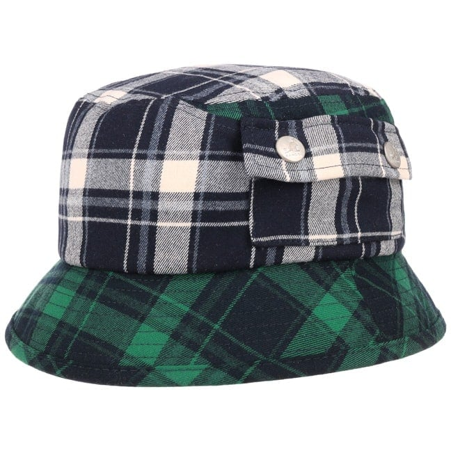bbc58a56f154cb Plaid on Plaid Bucket Hat by Kangol - 34,95 £