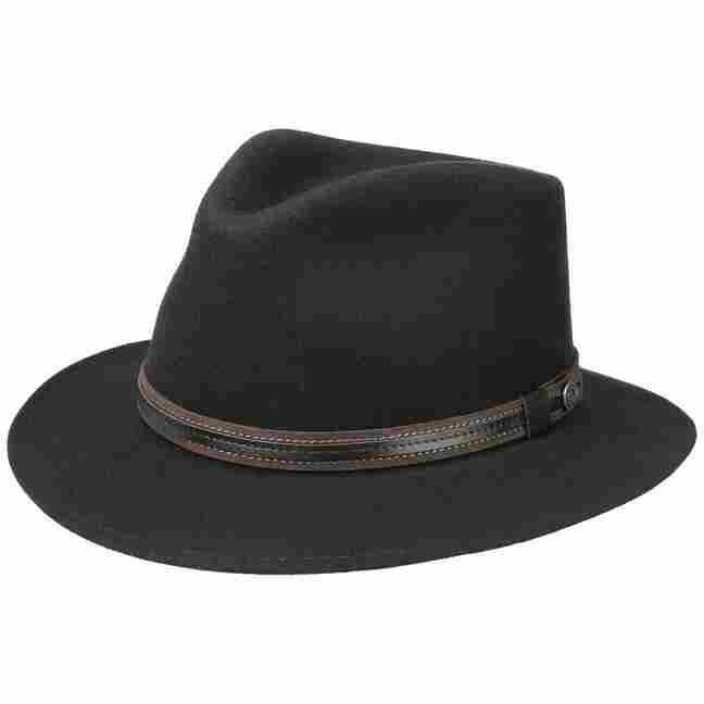 85942bfeb11 Waterproof Traveller Wool Felt Hat. by bugatti