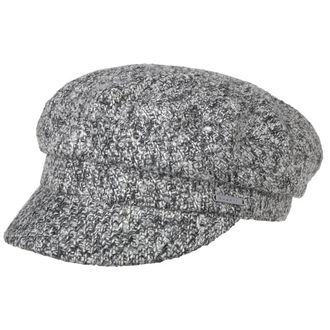 Black White Baker Boy Hat by bugatti f92adc4fe8a