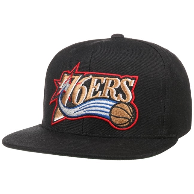 size 40 d796f 5787f Wool Solid 76ers Cap. by Mitchell   Ness