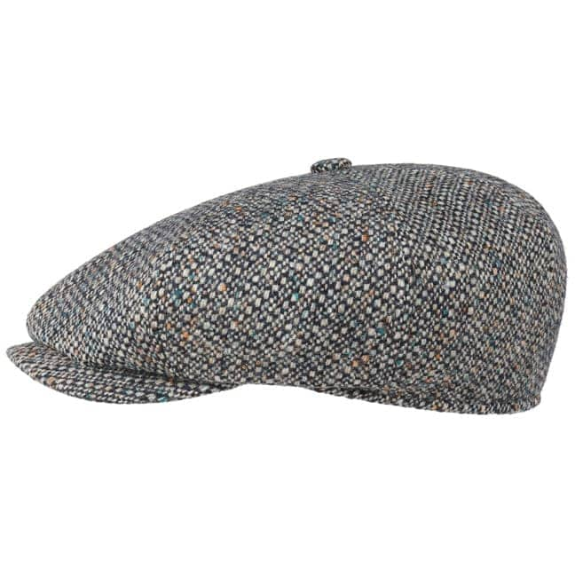 427536ba868 Many Wool Colour Neps Newsboy Cap. by Stetson