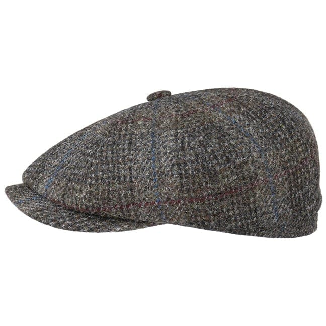 Hatteras Harris Tweed Check Flat Cap. by Stetson 340f332e442b