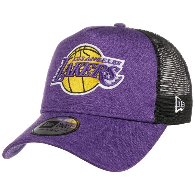 official photos bbc3f fe322 Shadow Tech Lakers Trucker Cap. by New Era